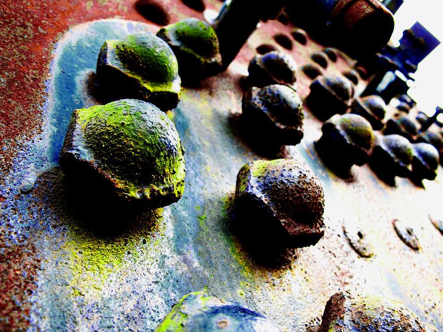 Bolts Photograph - Steam Tank  by David Walker