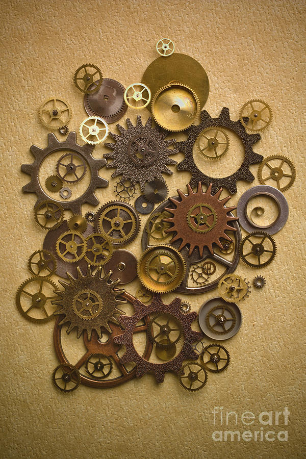 Steampunk Gears Photograph