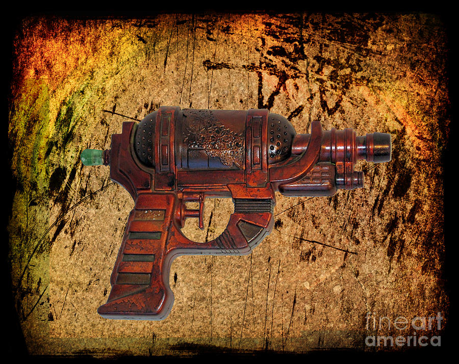 Steampunk - Gun - Ray Gun Photograph  - Steampunk - Gun - Ray Gun Fine Art Print