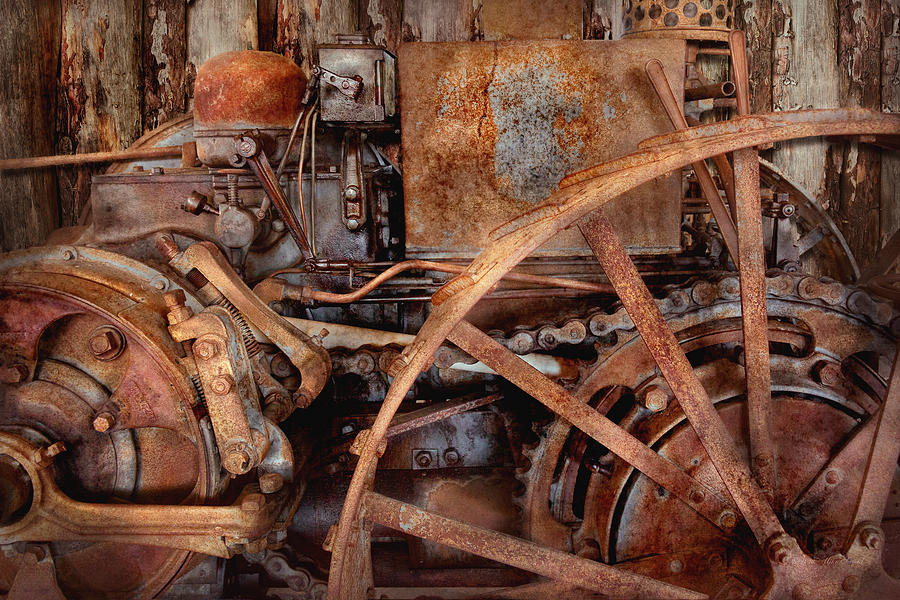 Steampunk - Machine - The Industrial Age Photograph
