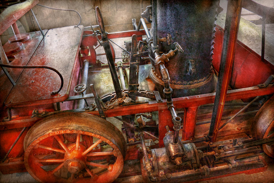 Steampunk - My Transportation Device Photograph  - Steampunk - My Transportation Device Fine Art Print
