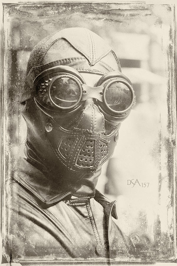 Steampunk Ninja Photograph