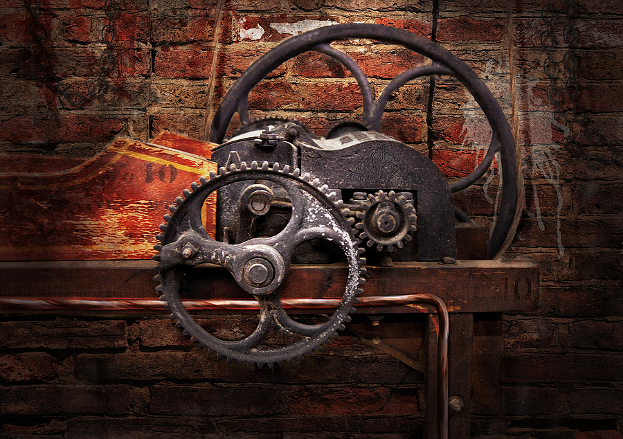 Steampunk - No 10 Digital Art  - Steampunk - No 10 Fine Art Print