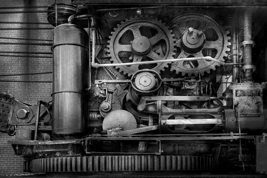Steampunk - Serious Steel Photograph