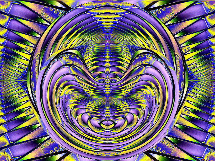 Steel Cheshire Digital Art