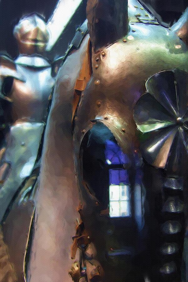 Steel Knight Painting