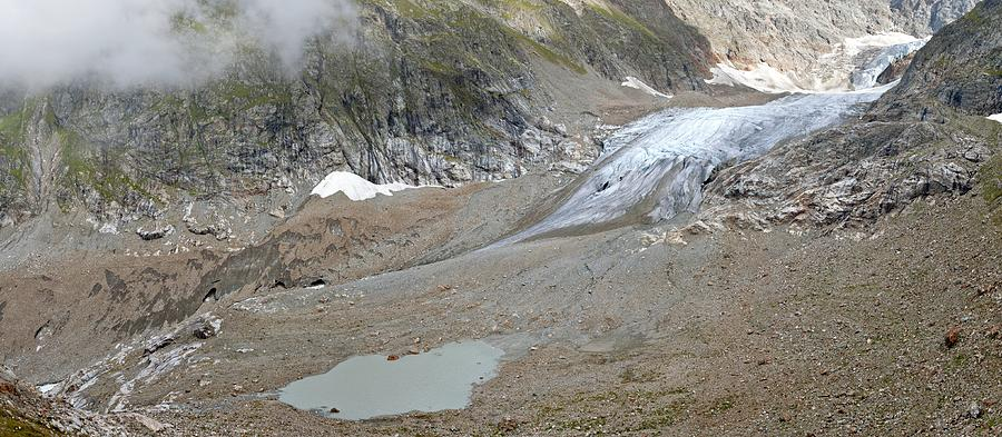 Glacier Photograph - Stein Glacier, Switzerland by Science Photo Library
