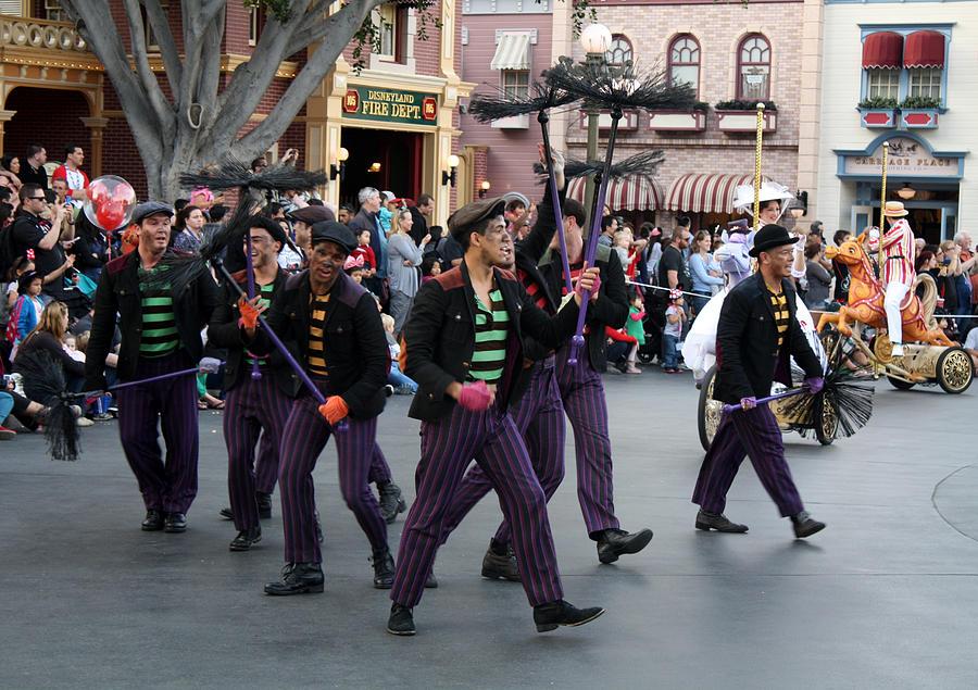 Disneyland Photograph - Step Inside by David Nicholls