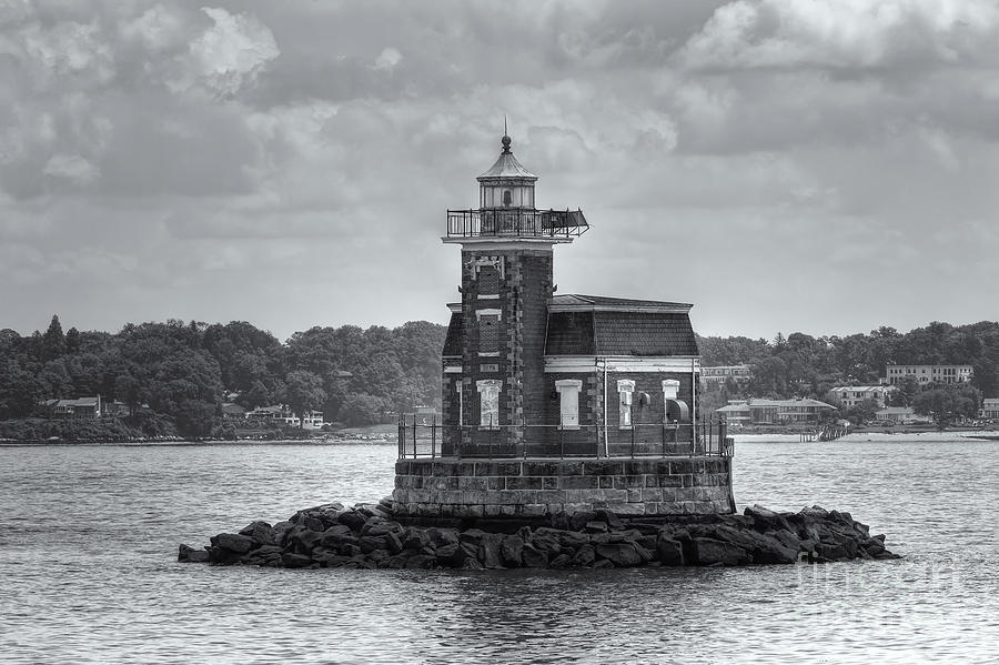 Stepping Stones Lighthouse II Photograph  - Stepping Stones Lighthouse II Fine Art Print