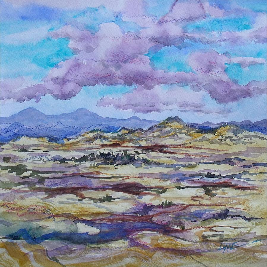 Plein Air Painting - Steptoe Butte 2 by Lynne Haines