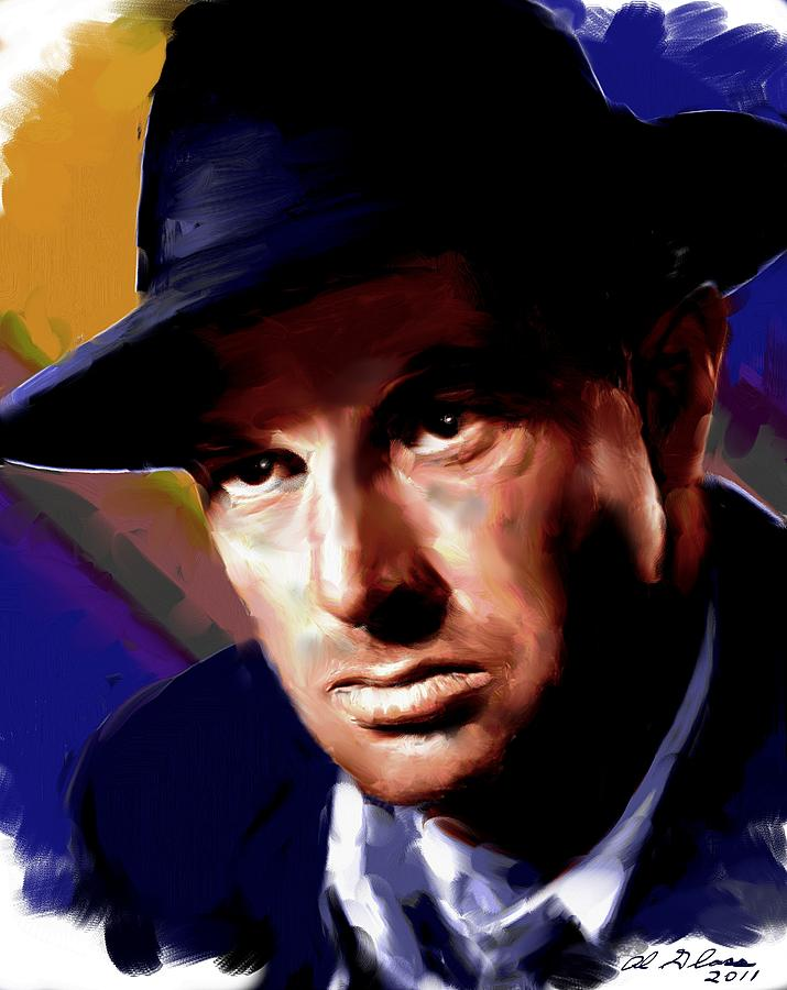 Sterling Hayden Painting  - Sterling Hayden Fine Art Print