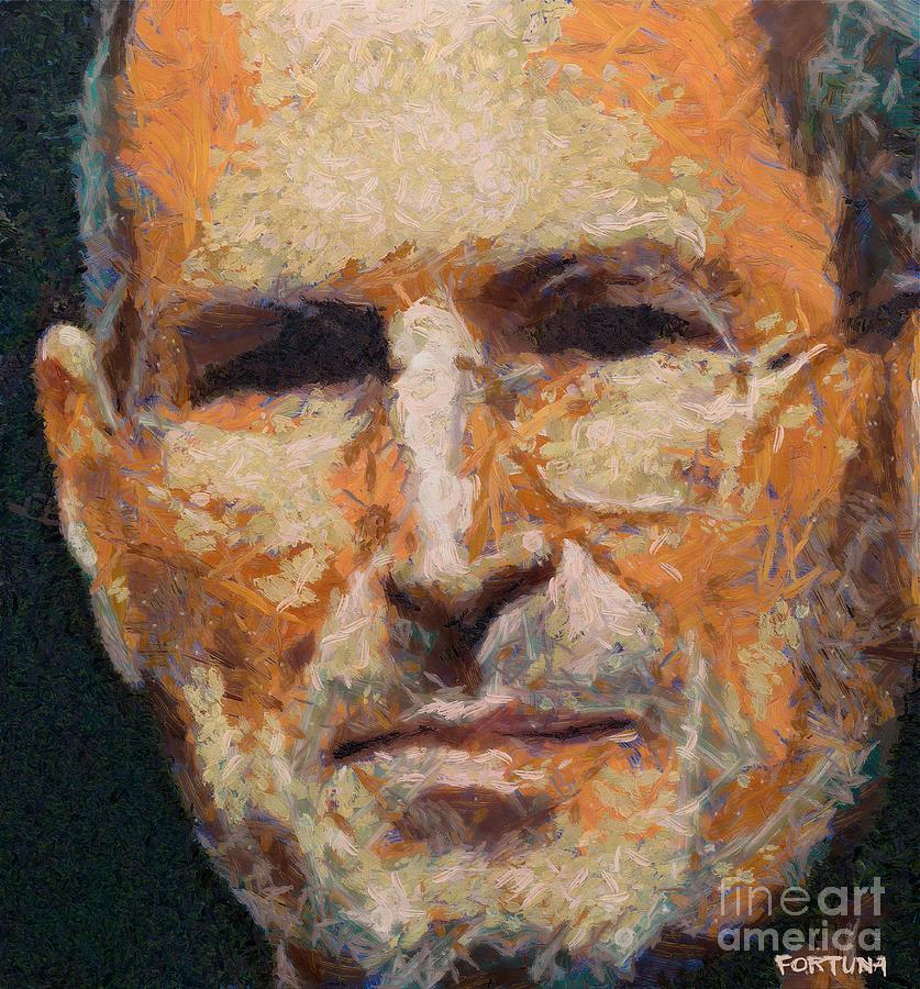 Celebrities Painting - Steve Jobs by Dragica  Micki Fortuna