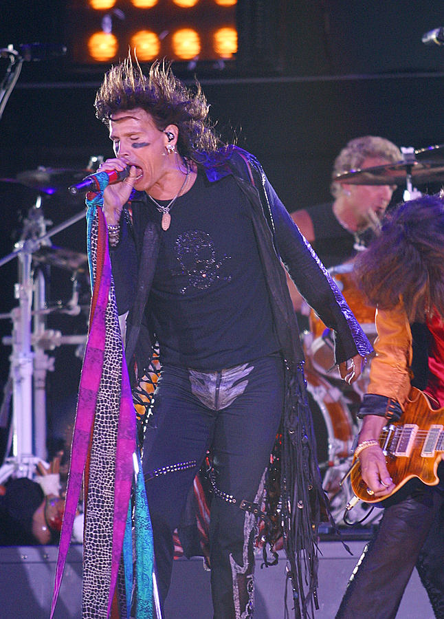 Steven Tyler Aerosmith Photograph
