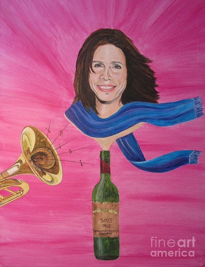 Steven Tyler Painting - Steven Tyler by Jeepee Aero