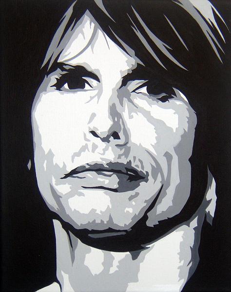Steven Tyler Painting - Steven Tyler by Michael James  Toomy