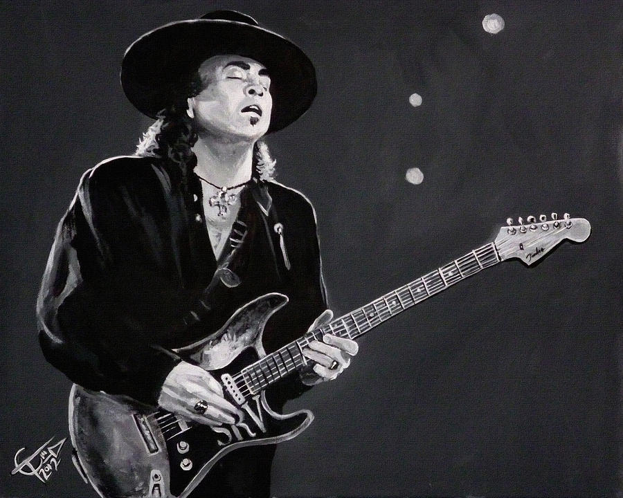 Stevie Ray Vaughan Painting