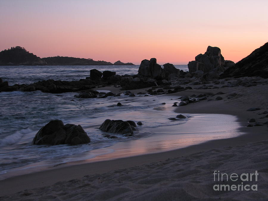 Stewarts Cove At Sunset Photograph
