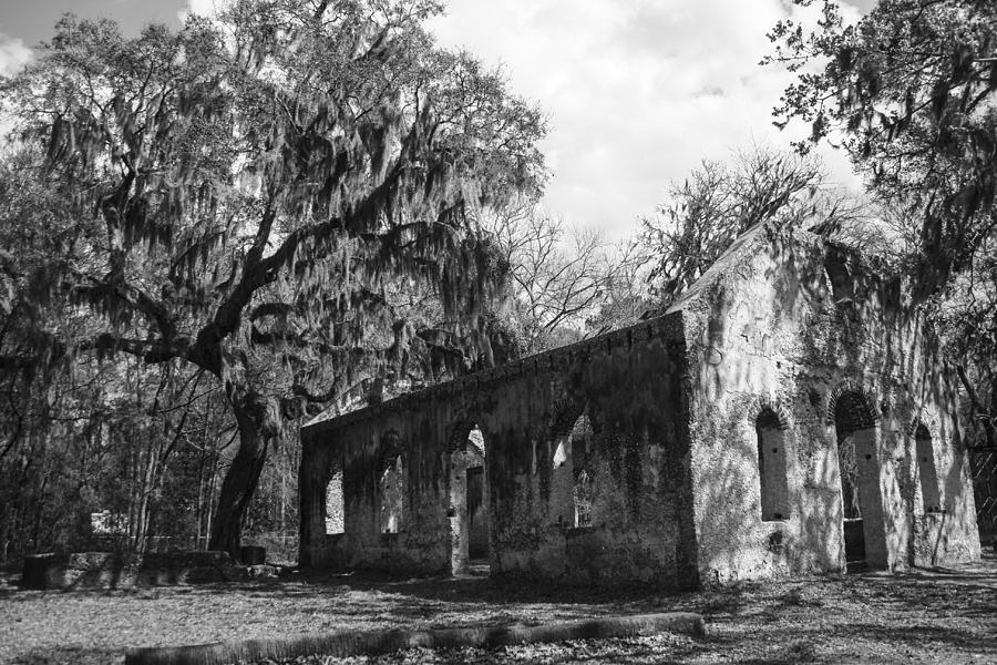 St.helena Chapel Of Ease Bw 1 Photograph