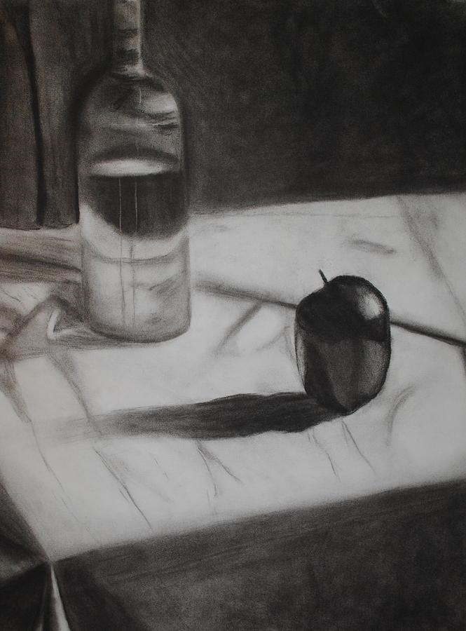 Still Life Drawing - Still by Leslie Ann Hammer