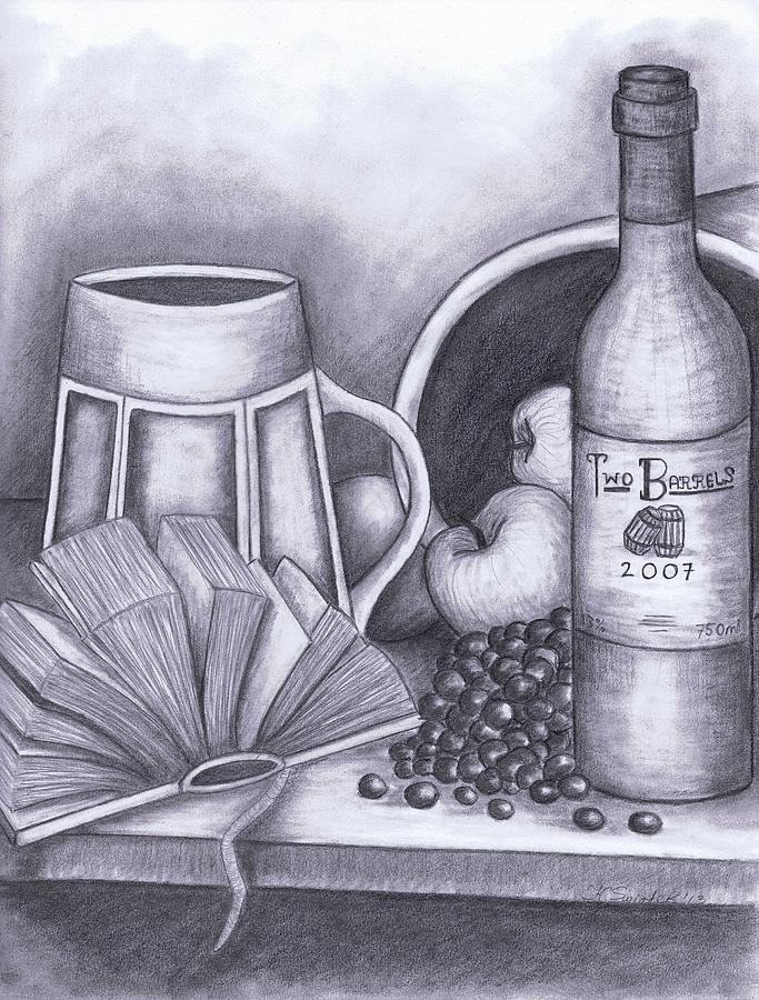 Still Life Drawing Drawing