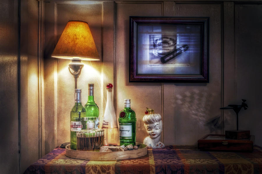Still Life - The Home Bar Photograph