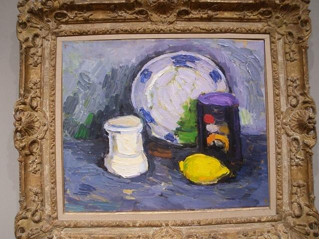 Still Life With Lemon Painting