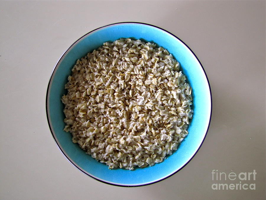 Still Life With Oatmeal Photograph