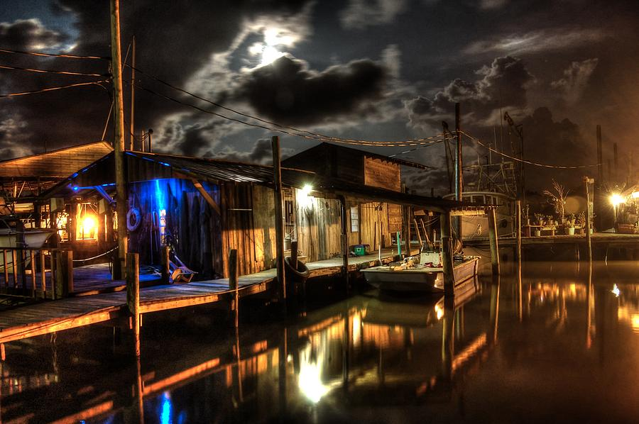 Alabama Digital Art - Still Marina by Michael Thomas