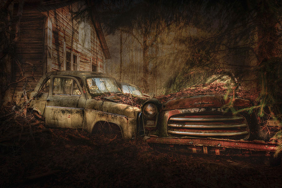 Automobile Photograph - Still Standing by Erik Brede