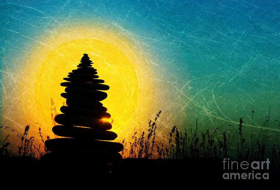 Zen Photograph - Stillness And Movement by Tim Gainey