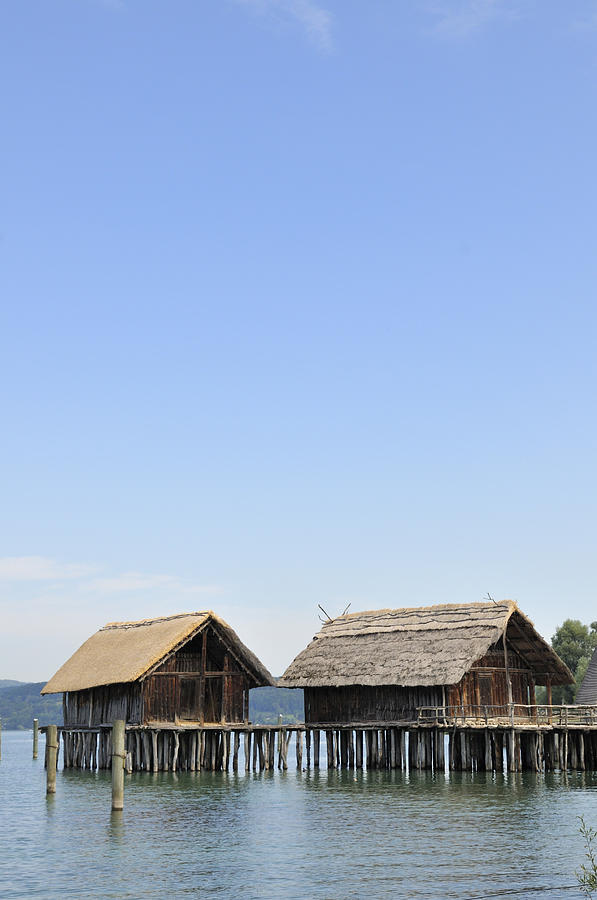 Stilt Houses At Lake Constance Germany Photograph  - Stilt Houses At Lake Constance Germany Fine Art Print