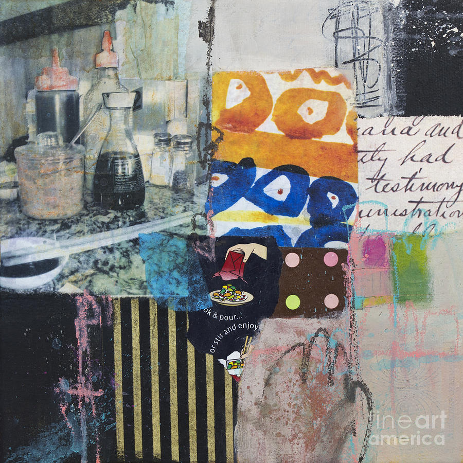 Stir And Enjoy Mixed Media  - Stir And Enjoy Fine Art Print