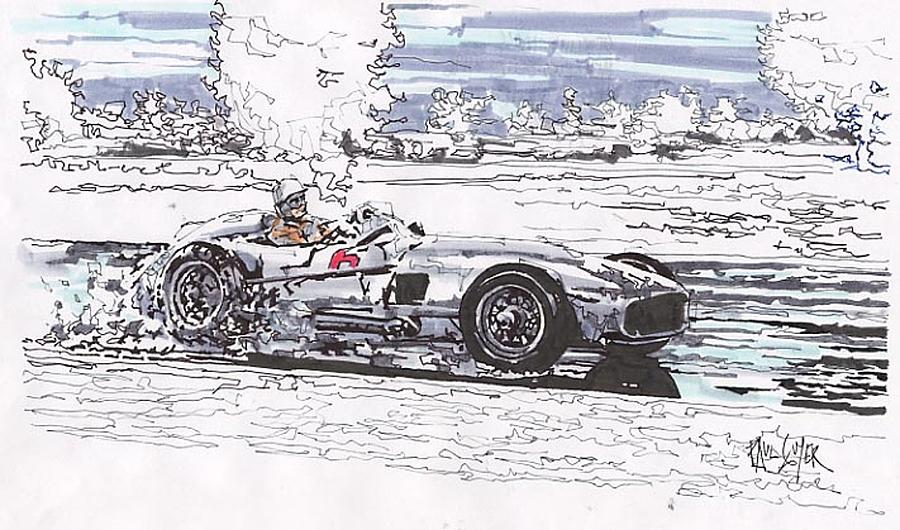 Stirling moss mercedes benz grand prix of argentina for Mercedes benz argentina