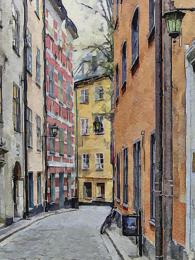 Stockholm 15 Digital Art