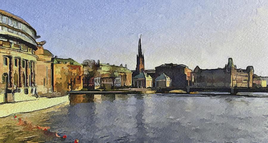 Stockholm 7 Digital Art