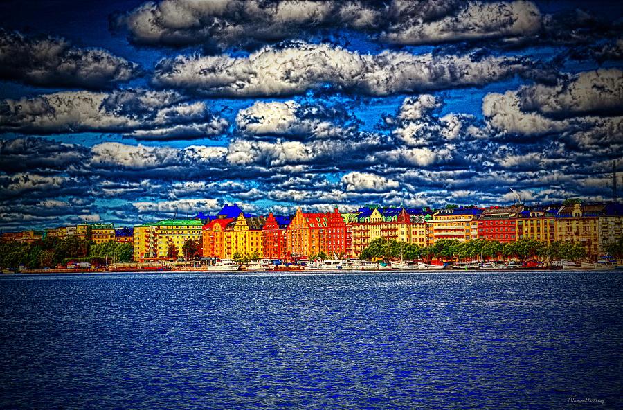 Stockholm Experimental Hdr Photograph