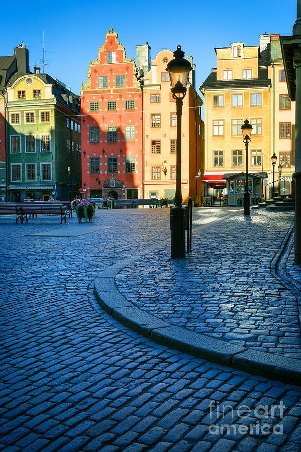 Stockholm Stortorget Square Photograph