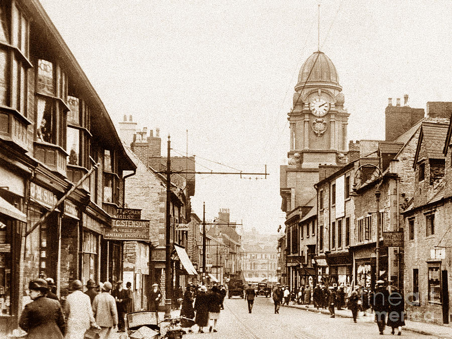 Mansfield United Kingdom  city photo : Stockwellgate Mansfield England by The Keasbury Gordon Photograph ...