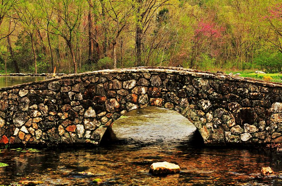 Stone Bridge In The Ozarks Photograph
