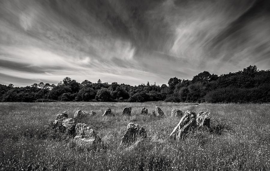 Ireland Photograph - Stone Circle Ireland by Pierre Leclerc Photography
