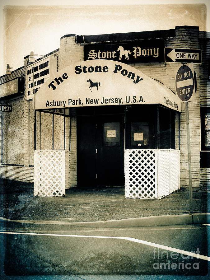 The Stone Pony Photograph - Stone Pony by Colleen Kammerer