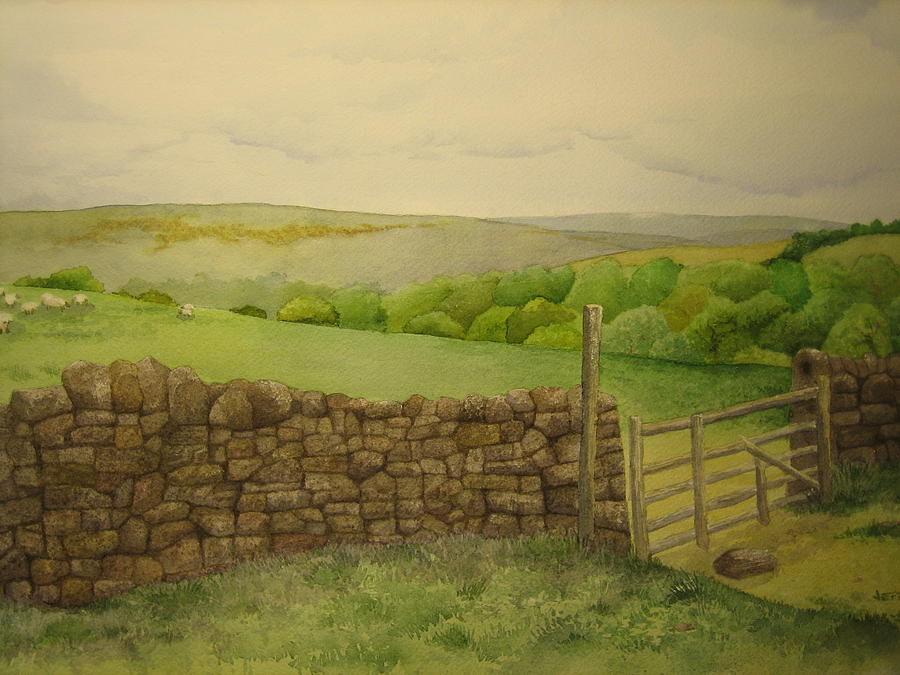 Stone Wall Painting