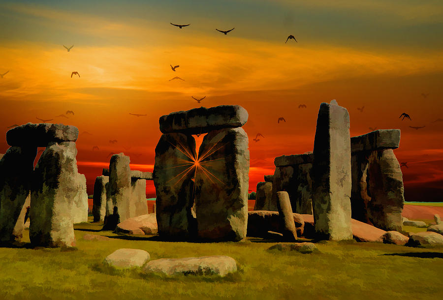 Stonehenge Fantasy Digital Art