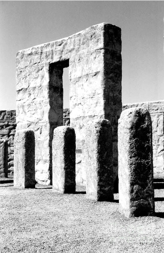 Stonehenge Replica Photograph