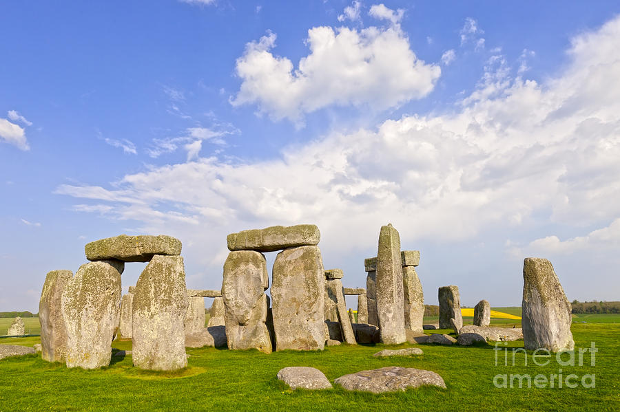 England Photograph - Stonehenge Stone Circle Wiltshire England by Colin and Linda McKie