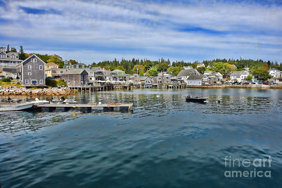 Maine Photograph - Stonington In Maine by Olivier Le Queinec