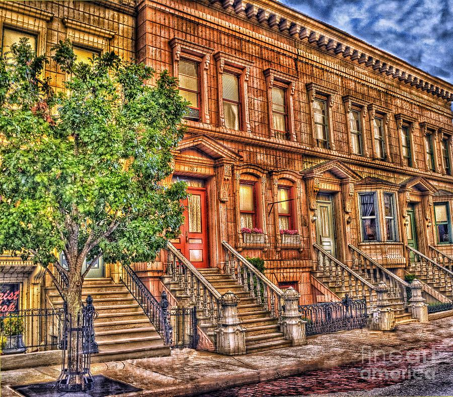 Stoop Ball Anyone? Photograph  - Stoop Ball Anyone? Fine Art Print