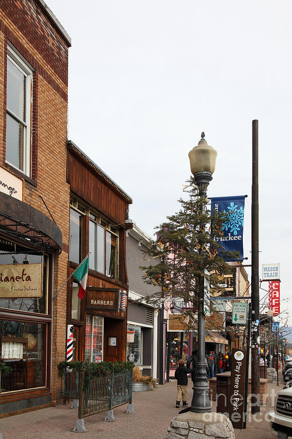 Storefront Shops In Truckee California 5d27490 Photograph