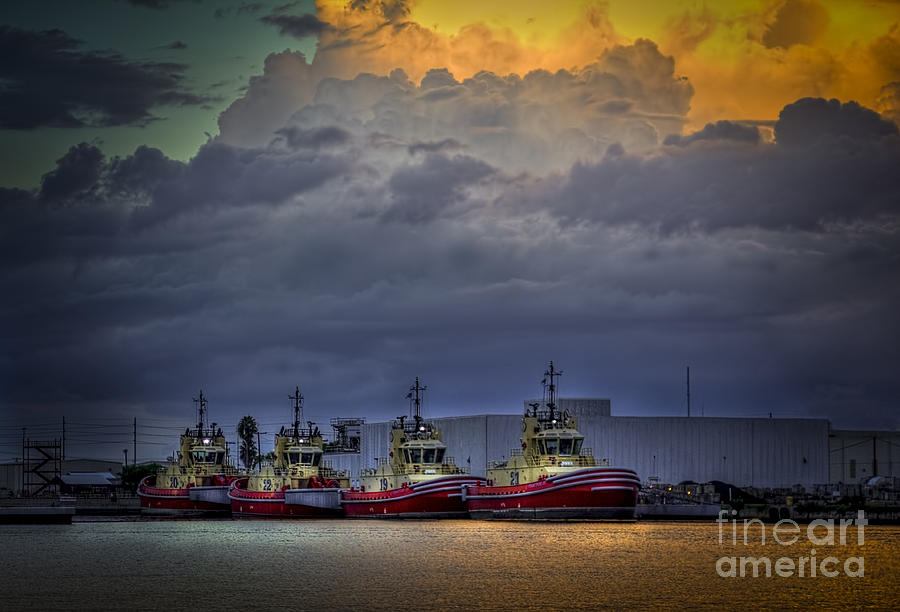 Storm Clouds Photograph - Storm Brewing by Marvin Spates