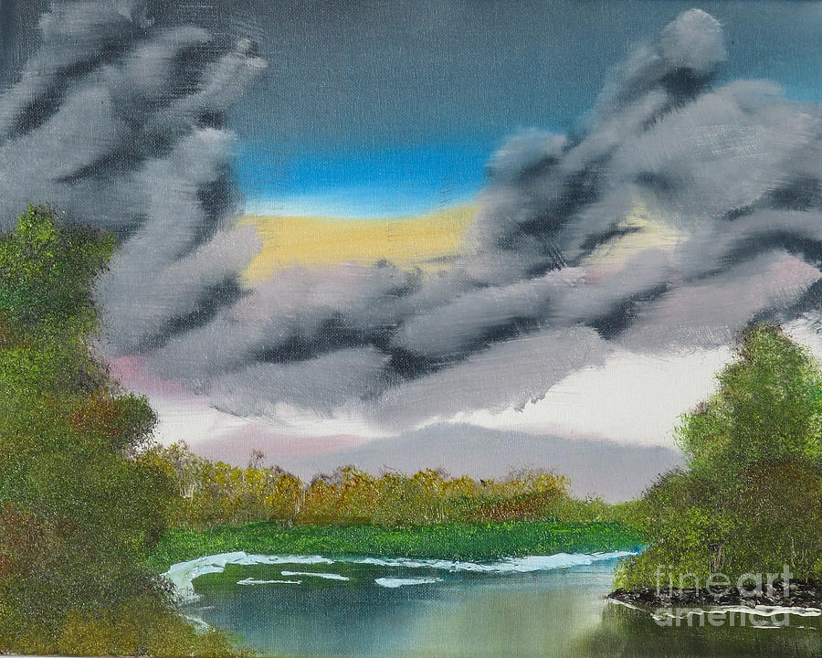 Storm Clouds Painting